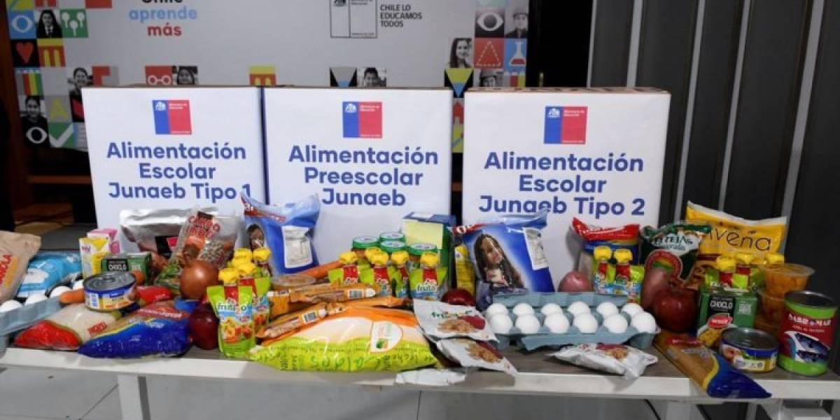 Junaeb confirmó entrega de productos en mal estado: afectó a regiones de Los Lagos y Los Ríos