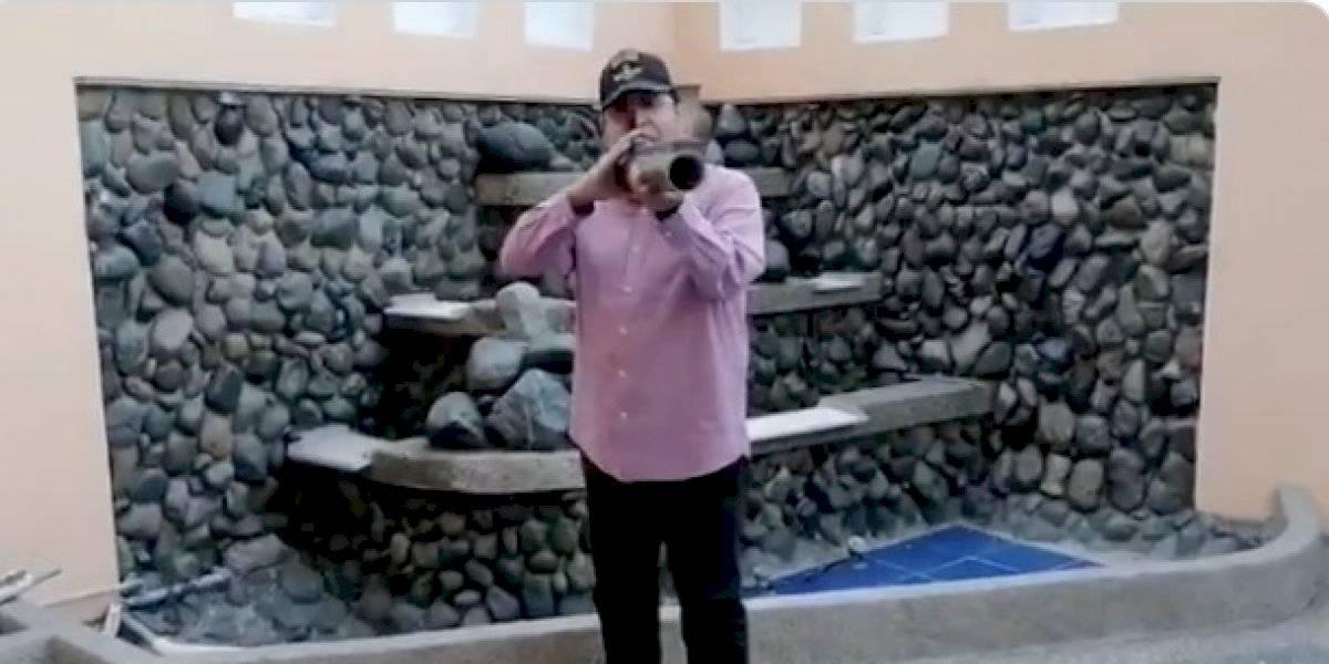 Lucio Gutiérrez, tendencia en redes por uso de una bazuca en video
