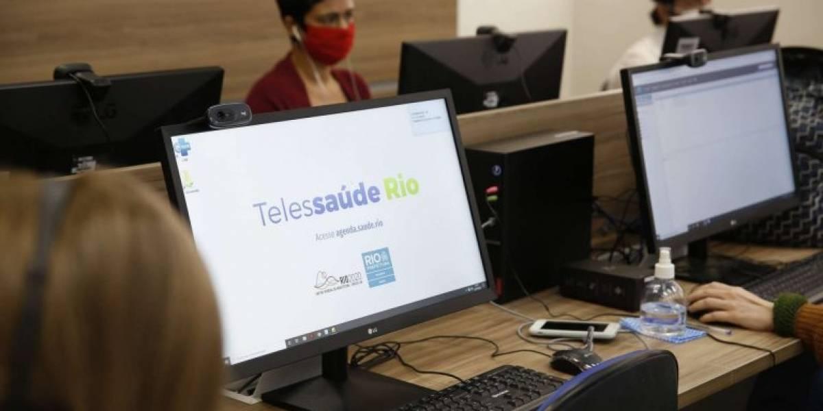 Rio passa a oferecer consultas médicas no SUS por chamada em vídeo
