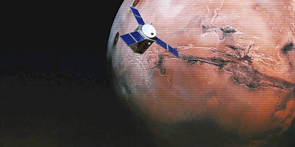 Tres misiones preparan su llegada a Marte