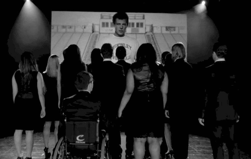 Elenco de Glee cuando falleció Cory