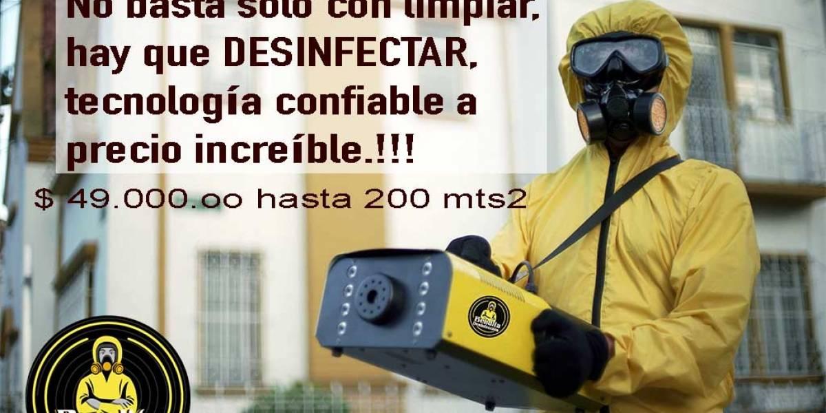 Bendita Desinfección: tecnología confiable para ti