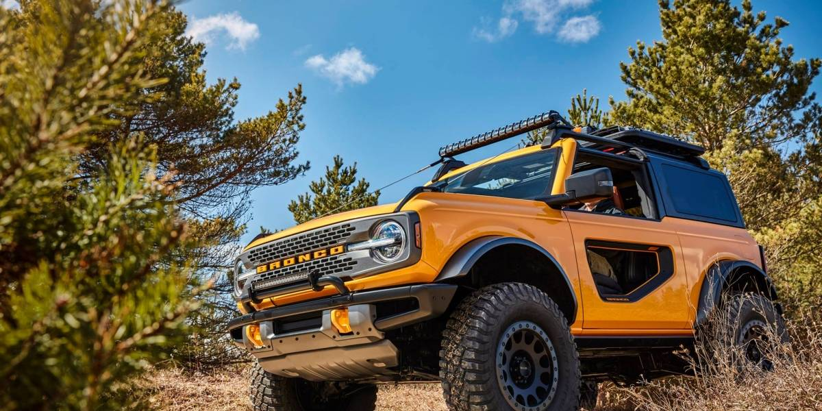 Ford creó un verdadero Bronco 2021