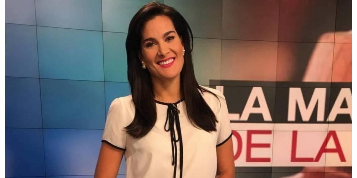 Vanessa de la Torre no disimuló su indignación en el noticiero y los televidentes la aplaudieron