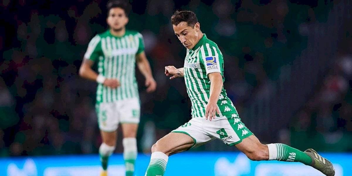 Manuel Pellegrini confirma el regreso de Andrés Guardado a La Liga