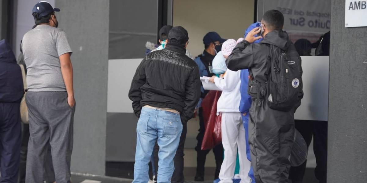 Quito: Chillogallo registra más de 800 casos de COVID-19
