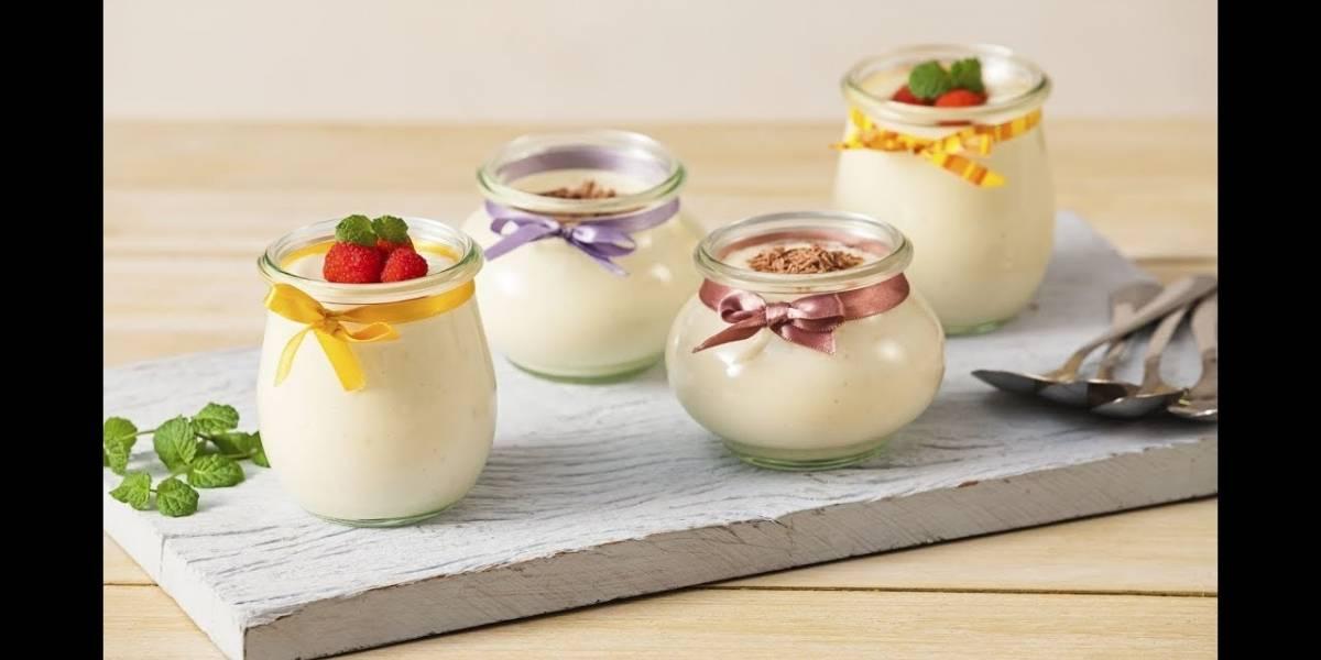 Aprenda a fazer um mousse de leite ninho com apenas 4 ingredientes