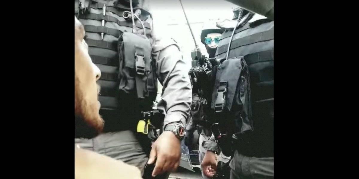 """""""Tuve miedo de mi vida"""": Habla hombre arrestado en caravana de Pierluisi en Fajardo"""