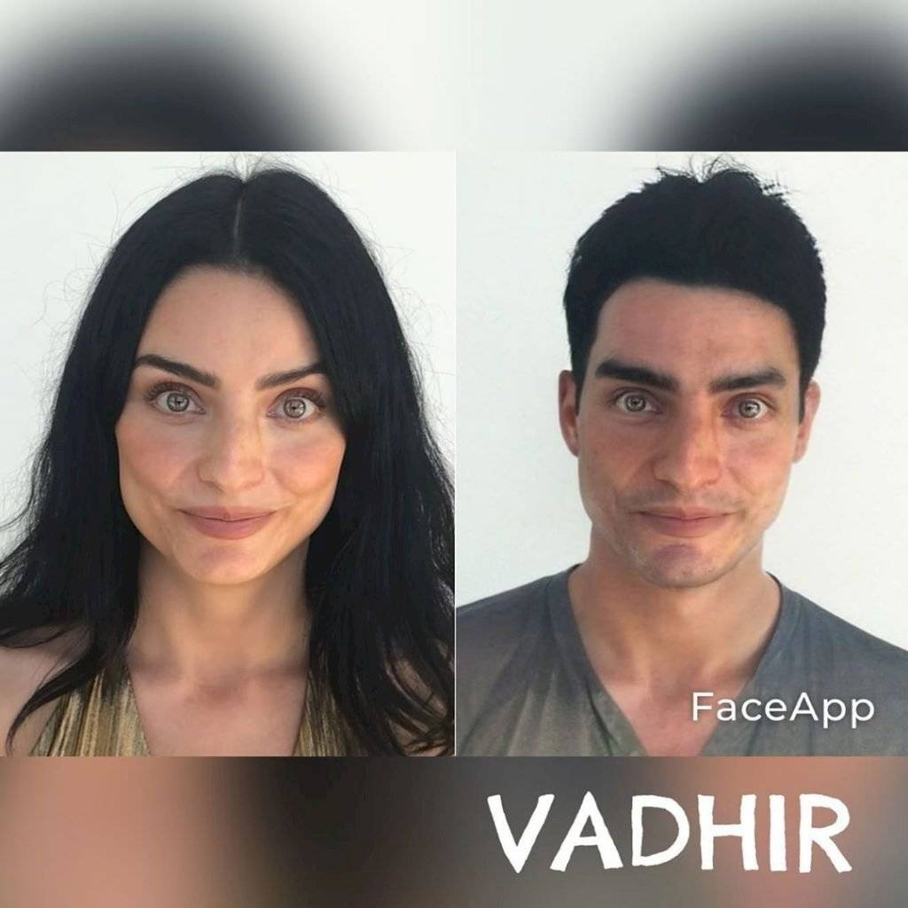 Aislinn Derbez en su formato masculino es idéntica a Vahir