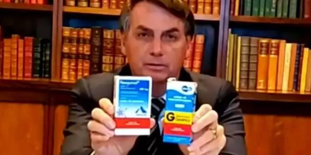 Bolsonaro é acusado de improbidade administrativa por promover cloroquina