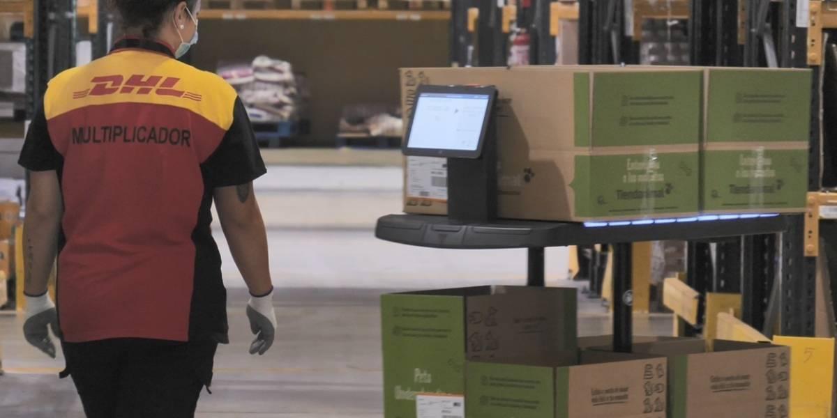 Portaltic.-DHL implanta la primera flota de robots autónomos operativa en uno de sus centros logísticos de eCommerce en España