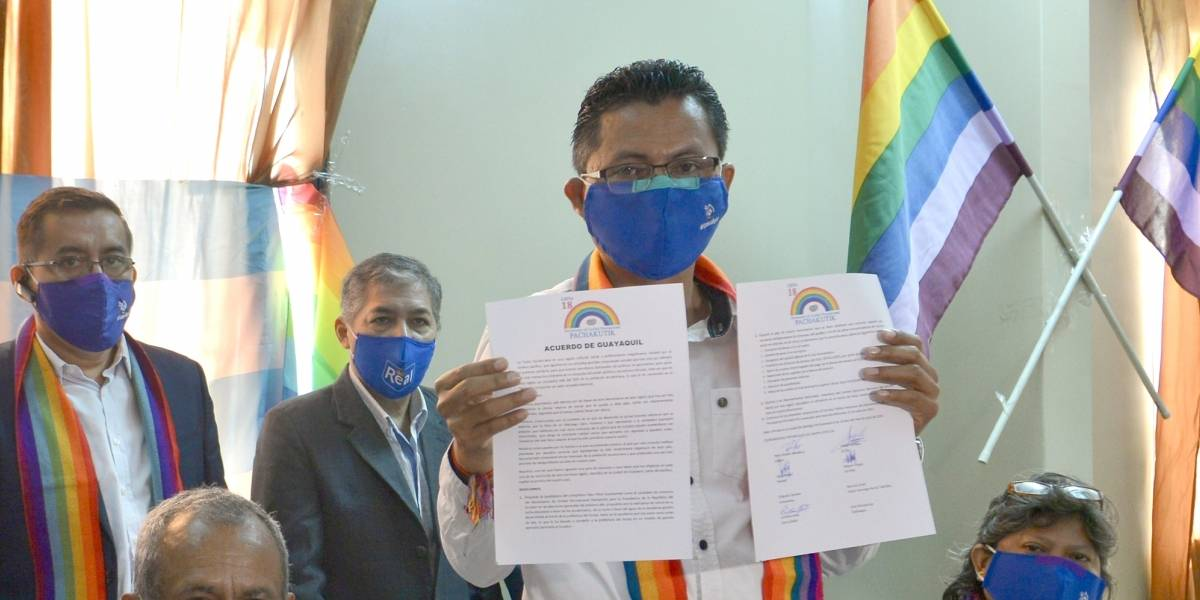 Elecciones 2021: Pachakutik confirma a Yaku Pérez como precandidato presidencial