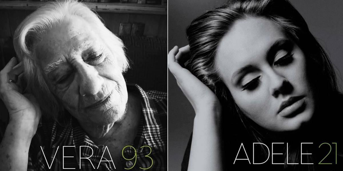 Contra tédio da quarentena, idosos recriam capas icônicas da história da música
