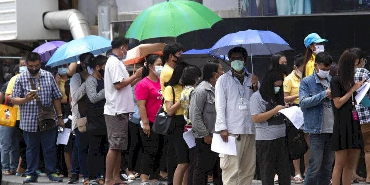 Tailandia: cuarentena a 1.900 personas por 2 extranjeros enfermos que violaron las regulaciones