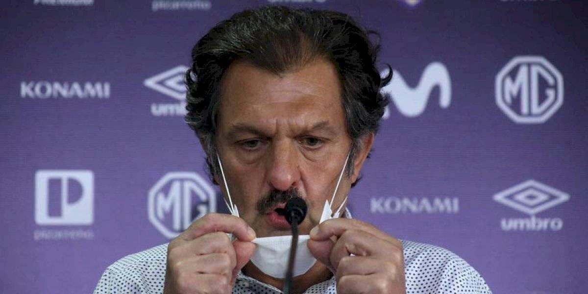 """Mosa y la situación de Colo Colo: """"Hablé con Paredes y le conté que íbamos a levantar el tema del seguro a partir del jueves"""""""