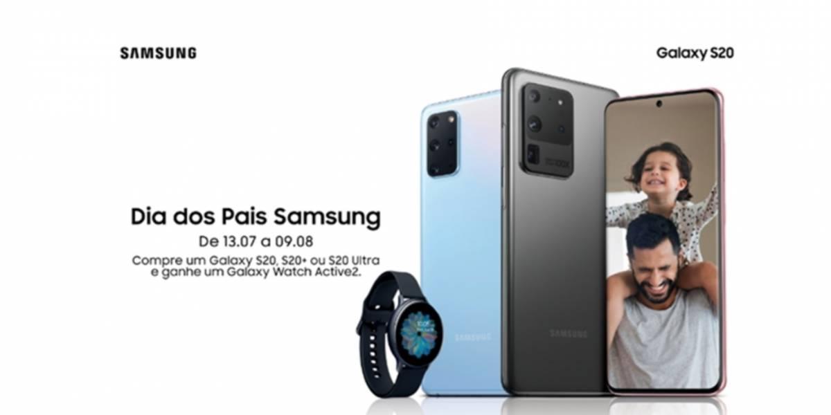 Tecnologia: Em celebração ao Dia dos Pais, Samsung disponibiliza oferta para linha Galaxy S20