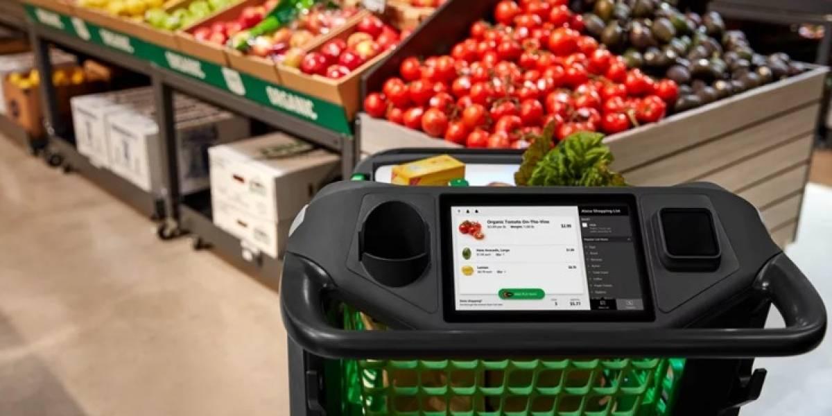 Amazon estrena un carrito de compra inteligente que elimina el uso de cajeros