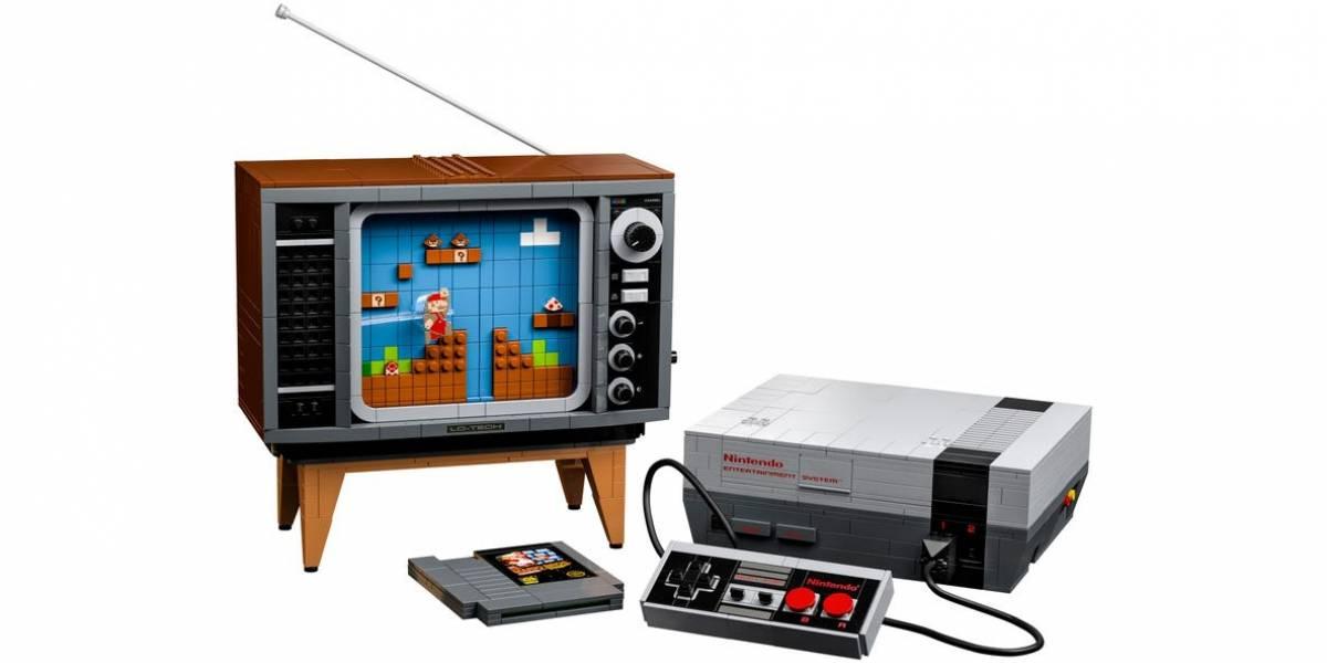 Primeiro console da Nintendo ganha set especial da LEGO para colecionadores