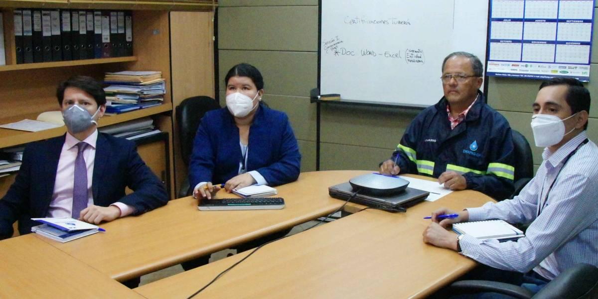 Tres mega obras mejorarán alcantarillado de Guayaquil