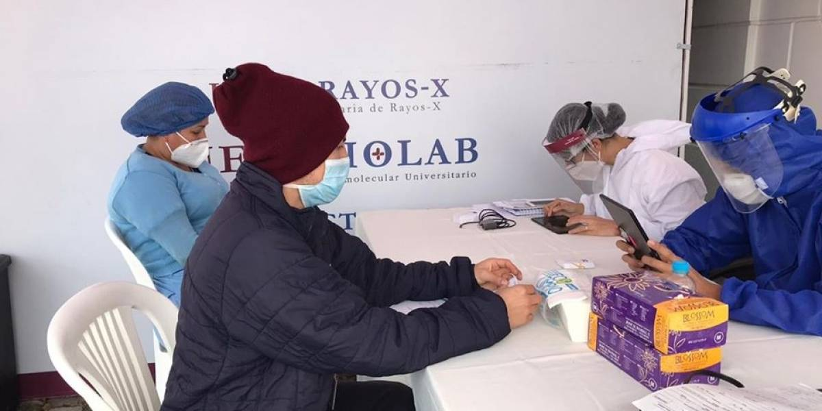 Quito: Pruebas biomoleculares con valores subsidiados y sin previa cita