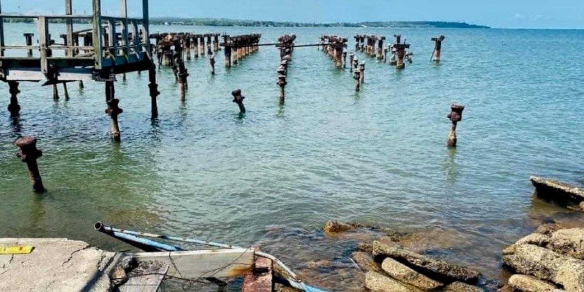 Comienza proceso remoción de escombros en Muelle de los Franceses en Mayagüez