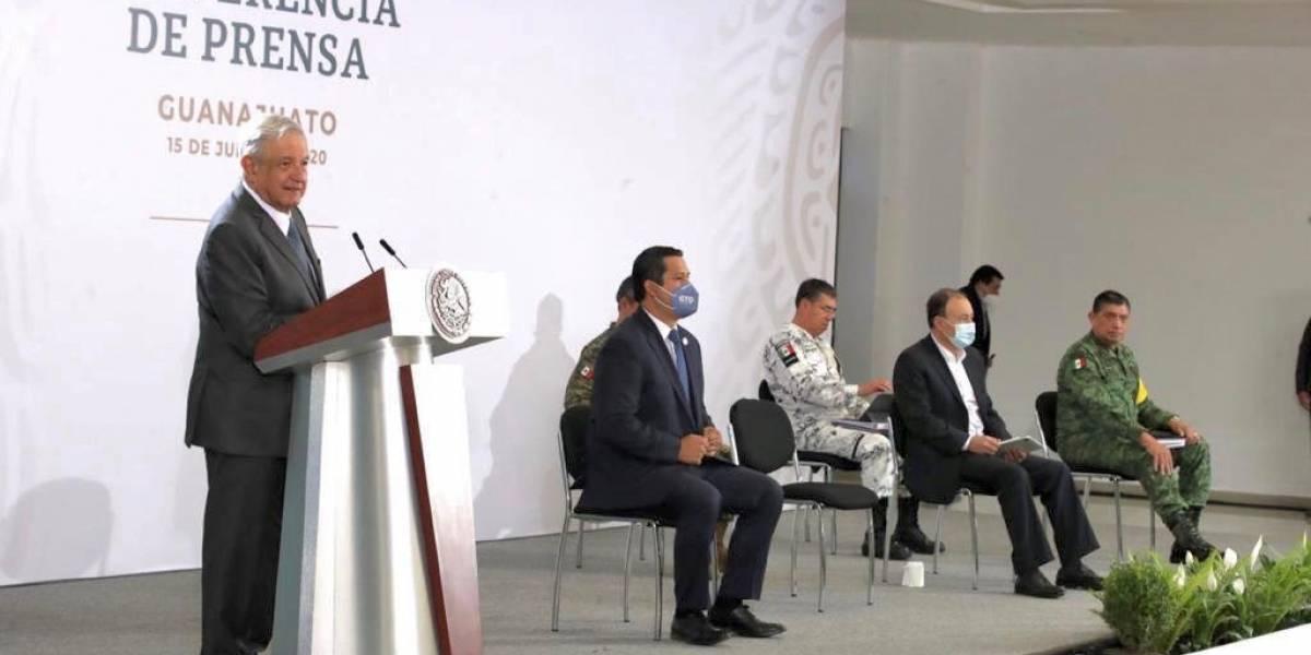 Promete AMLO mejorar coordinación con Guanajuato