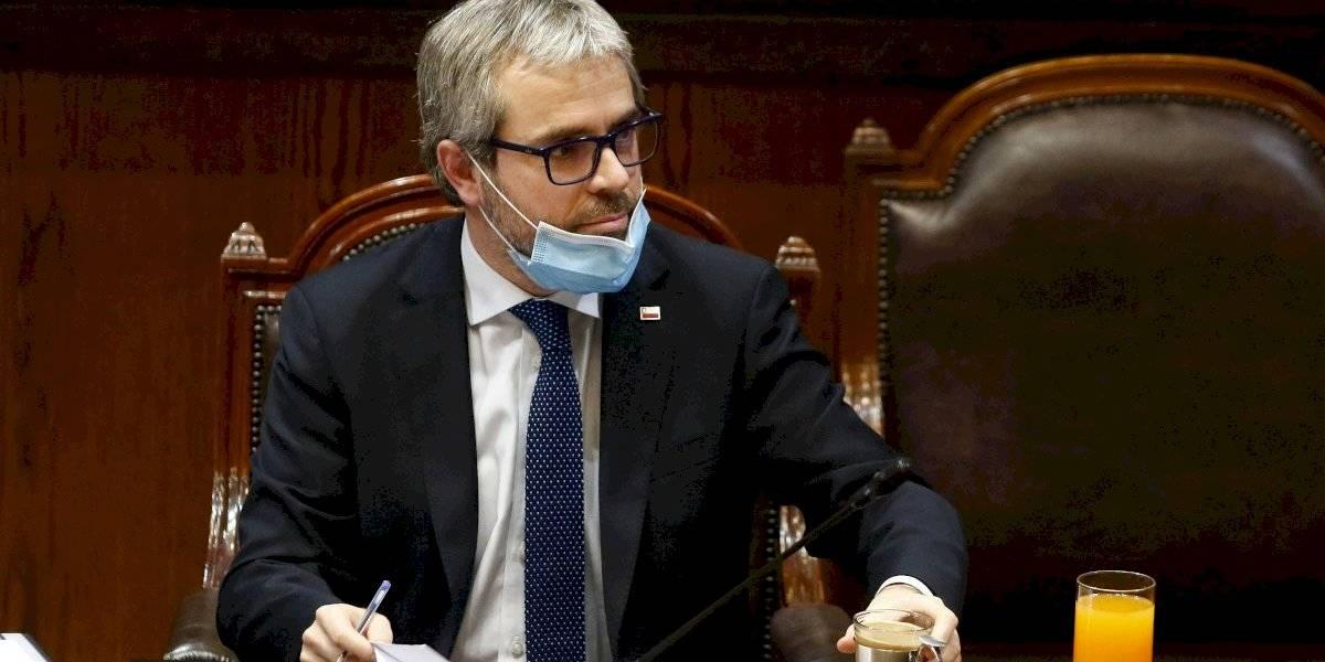 """Ministro Blumel y posible cambio de gabinete: """"Mientras tengamos la confianza del Presidente..."""""""