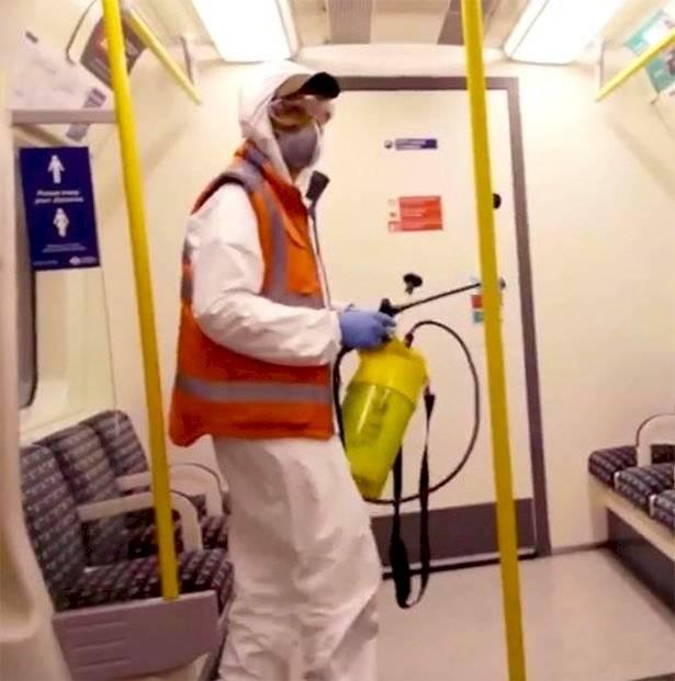 Bansky en el Metro de Londres