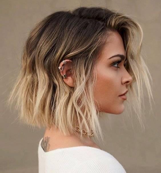 cortes de cabello corto para afinar el rostro