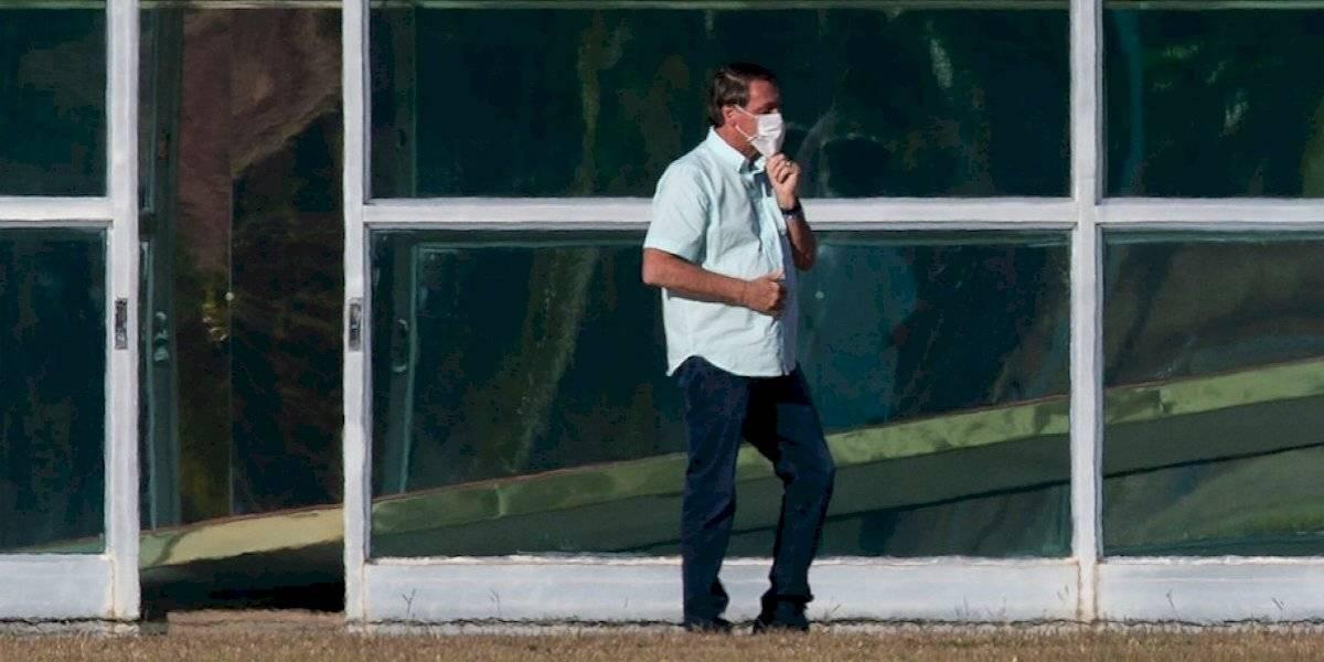 Hay gente porfiada: Bolsonaro vuelve a dar positivo a covid-19