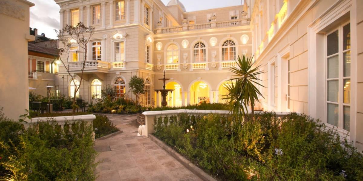 Casa Gangotena fue reconocida como uno de los mejores hoteles del mundo