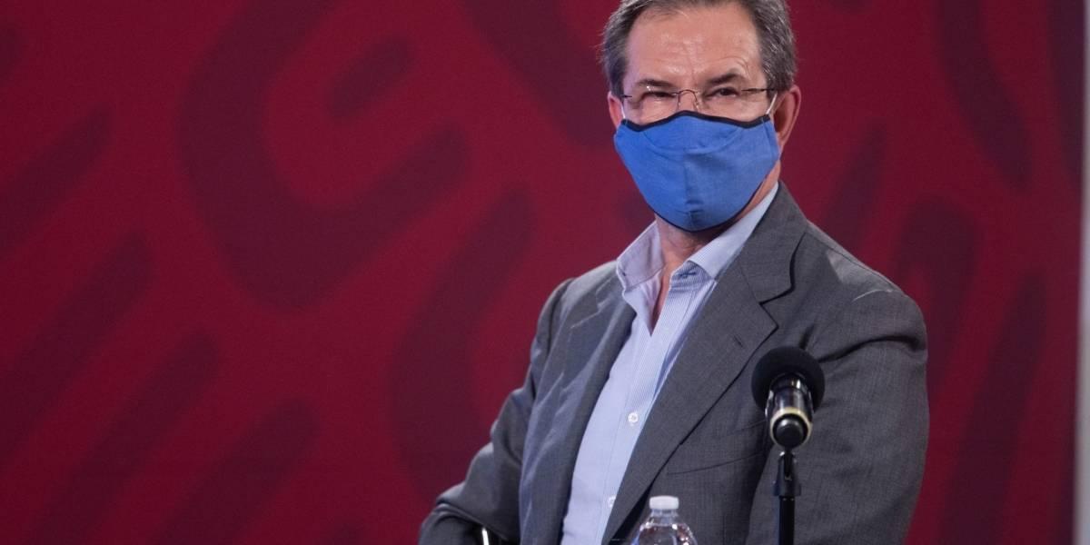 """""""Falso que las escuelas decidan el regreso a clases"""": Esteban Moctezuma"""