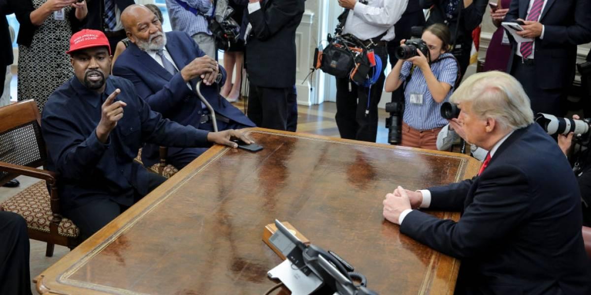 Kanye West desiste de concorrer à presidência dos EUA