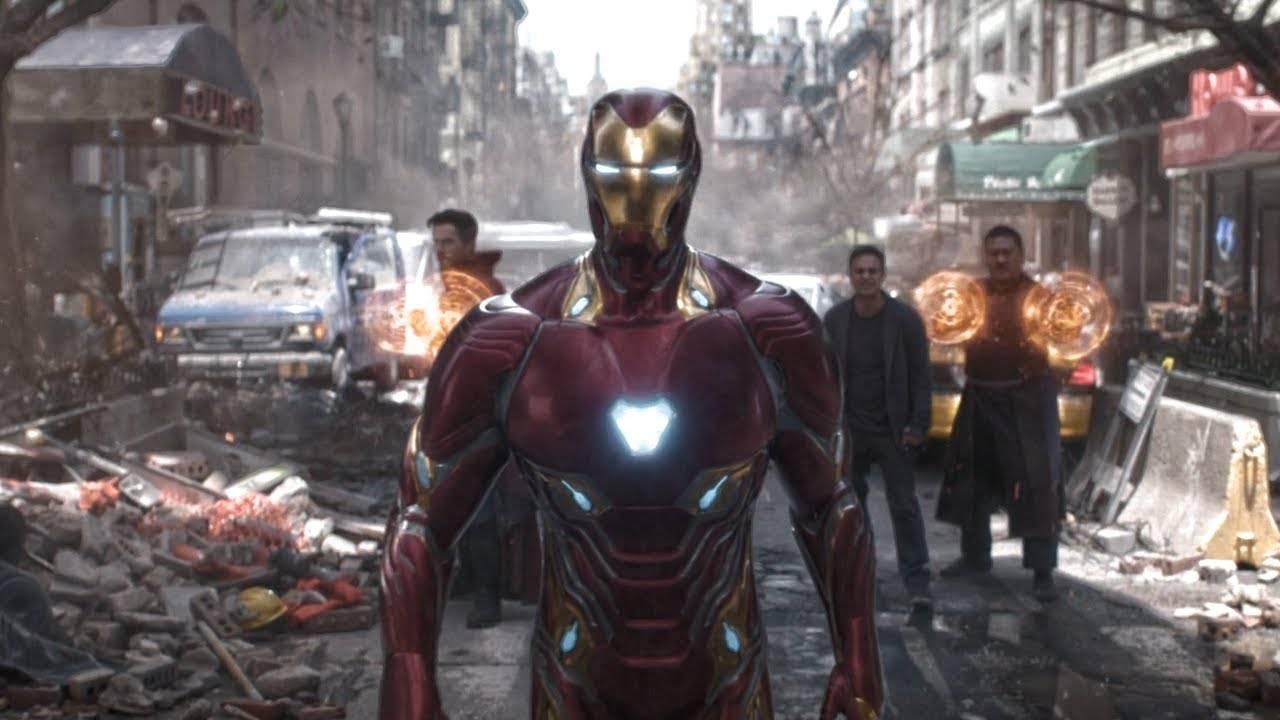 Avengers Iron Man Nanotecnología