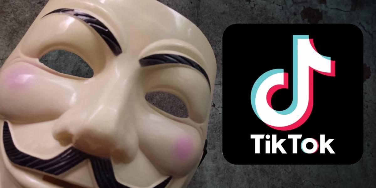 TikTok: ¿por qué Anonymous está pidiendo que desinstales la app?