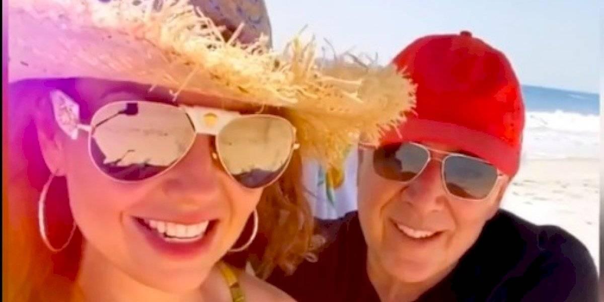 Thalía y Tommy Mottola ocultaron que tuvieron Covid-19