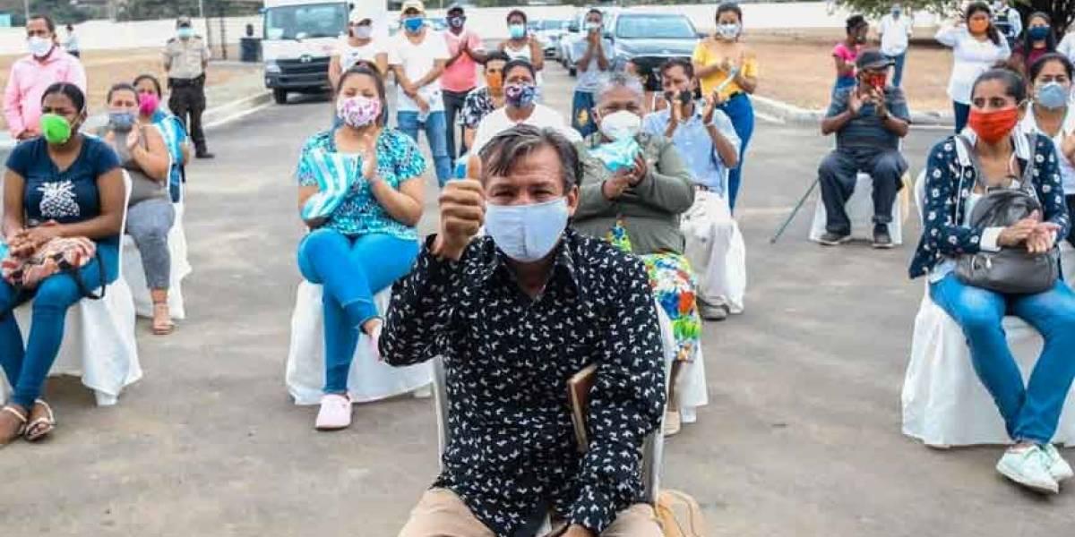 """Guayaquil arranca campaña """"No te confíes"""", para prevenir el rebrote Covid-19"""