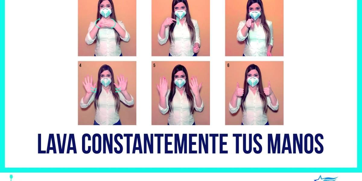 Lave sus manos y use gel antibacterial apenas regrese a casa con sus niños