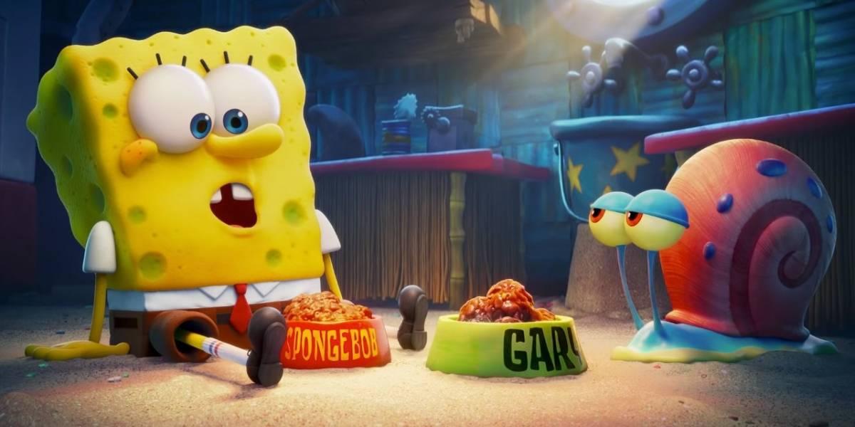 Netflix se hará cargo del estreno de la nueva película de Bob Esponja