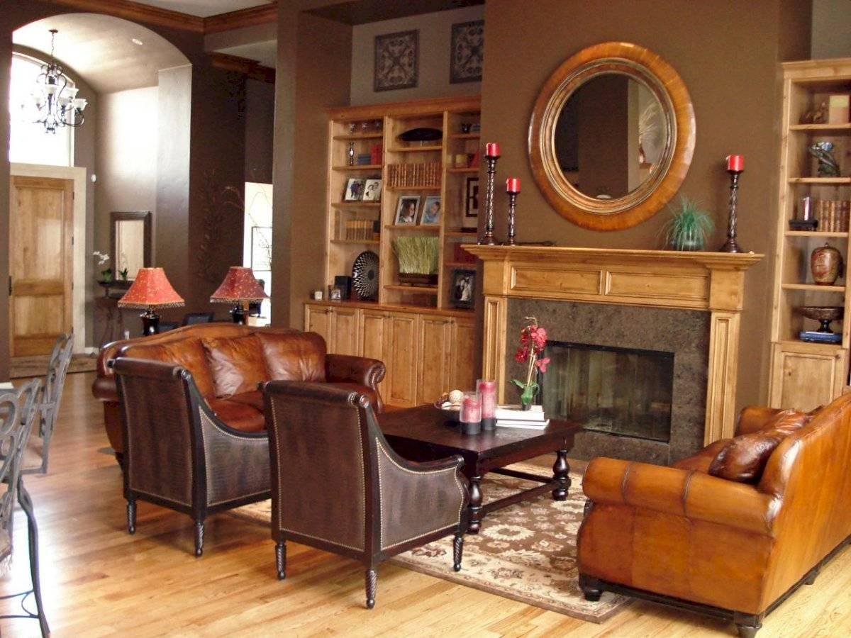Sala estilo estilo rustico