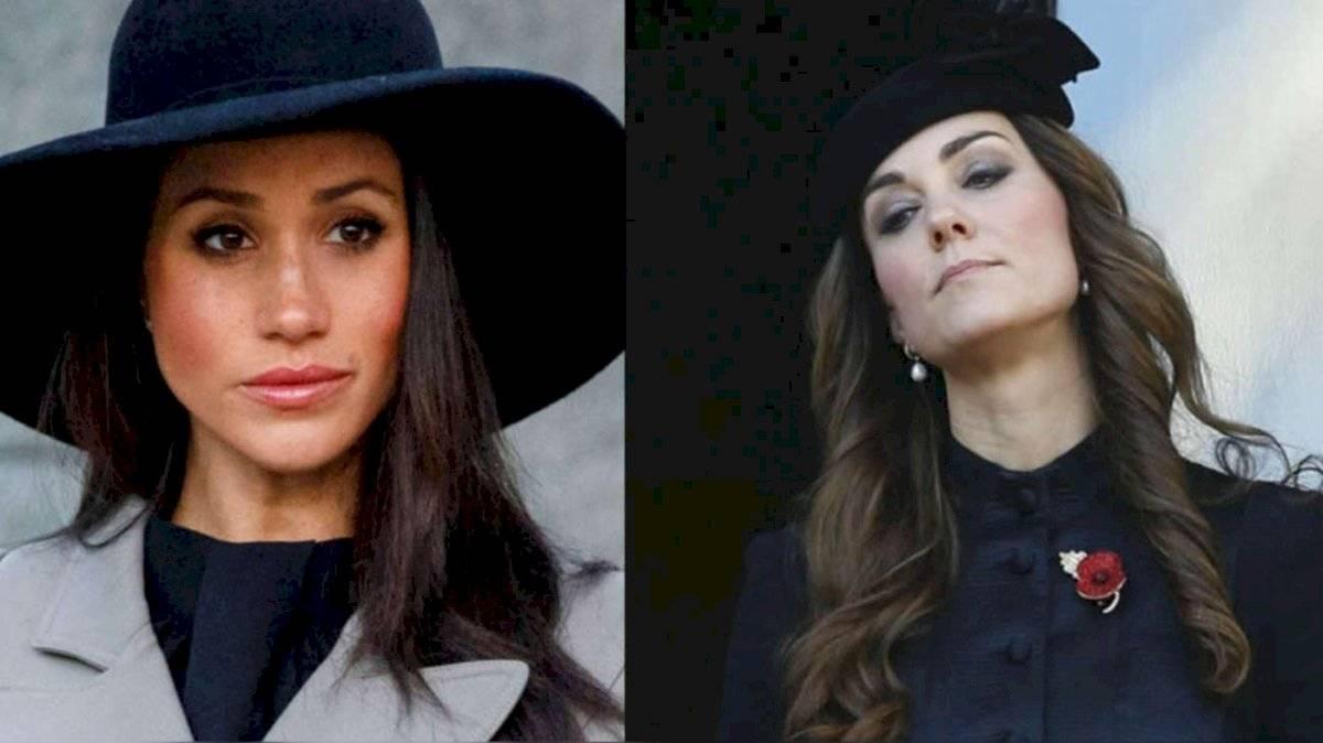 Meghan Markle y Kate Middleton ocuparon el cuarto y quinto lugar, respectivamente.