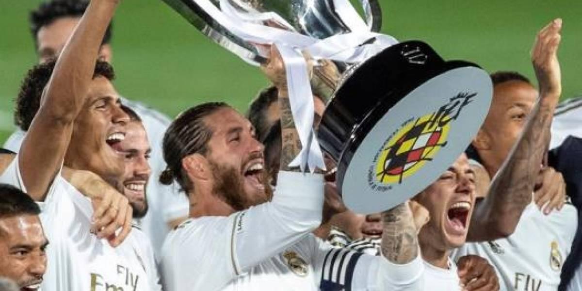 Jugador del Real Madrid da positivo a coronavirus ¿Qué pasará con la Champions League?