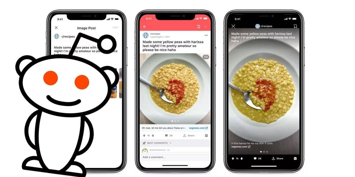 Reddit por fin te permite compartir múltiples imágenes en galería