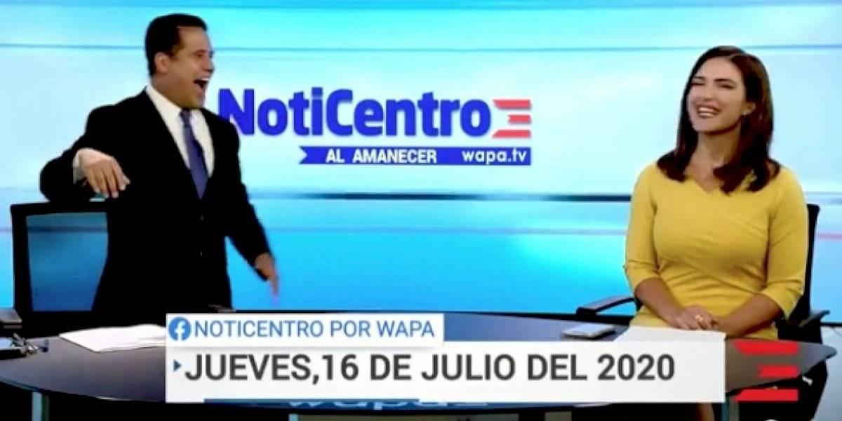 """Normando Valentín y Katiria Soto lideran por hoy """"Noticentro al amanecer"""""""