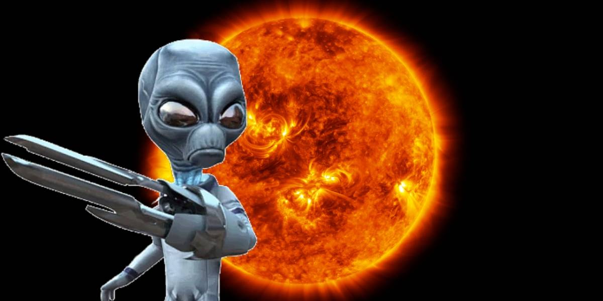 Aliens: cazador de OVNIs asegura haber encontrado pruebas de vida extraterrestre en el Sol
