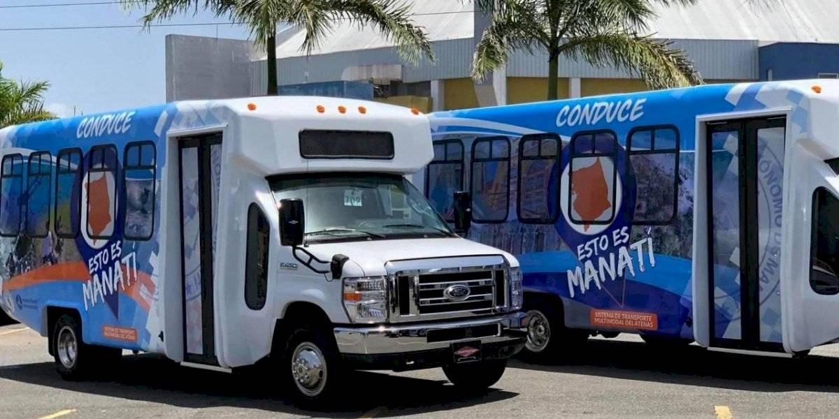 Manatí anuncia restablecimiento de servicio de transporte colectivo