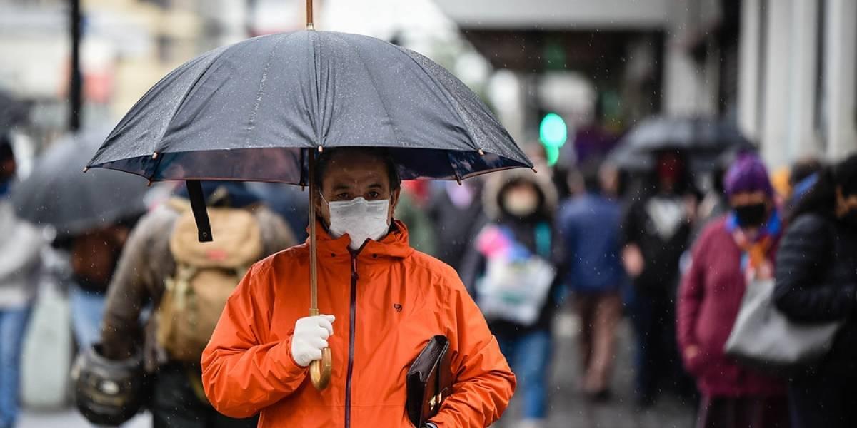 Emiten alerta meteorológica por fuertes lluvias en tres regiones del país