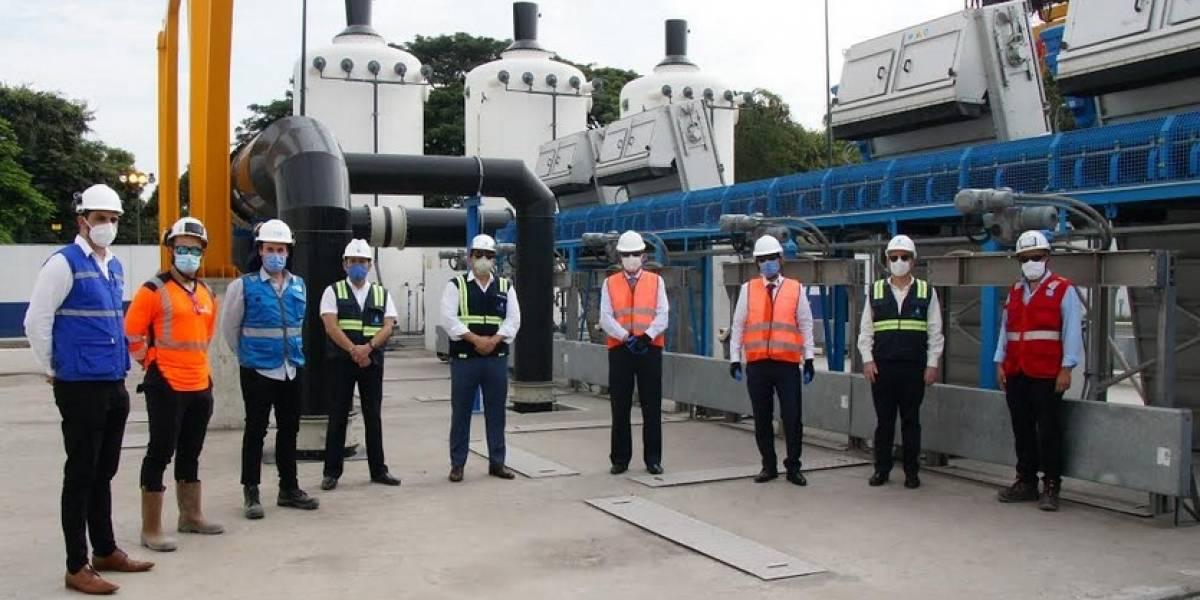 Delegación del Gobierno francés visitó obras ejecutadas por la Emapag