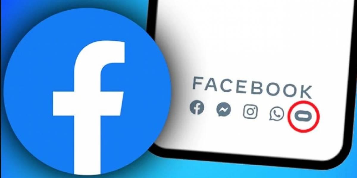 ¿Qué significa el símbolo que aparece junto al de WhatsApp cuando abres Facebook?