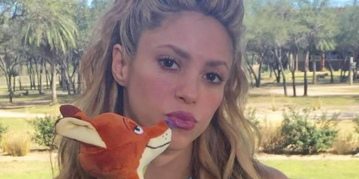 Shakira desata pasiones con un leggings de transparencias y botas bailando sensual